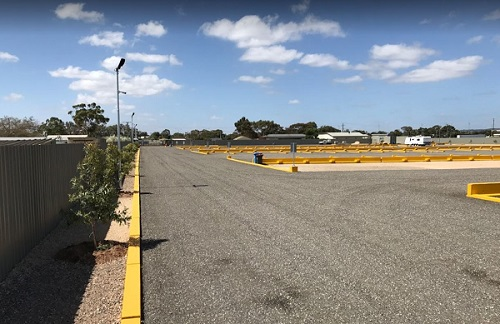Parking Bays for Caravans - Mawson Lakes